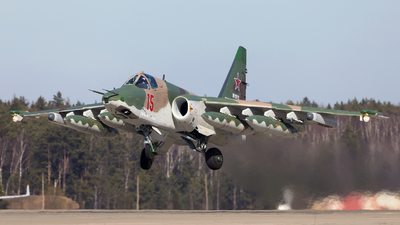 RF-29170 - Sukhoi Su-25SM Frogfoot - Russia - Air Force