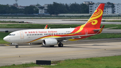 B-5813 - Boeing 737-74P - Hainan Airlines