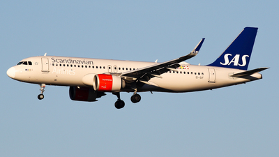 A picture of EISIF - Airbus A320251N - SAS - © C. v. Grinsven