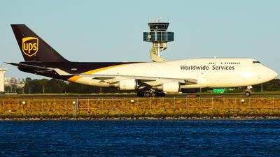 N578UP - Boeing 747-45E(BCF) - United Parcel Service (UPS)