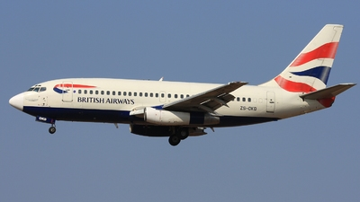 ZS-OKD - Boeing 737-236(Adv) - British Airways (Comair)