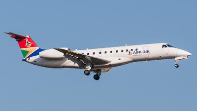 ZS-TFK - Embraer ERJ-135LR - Airlink