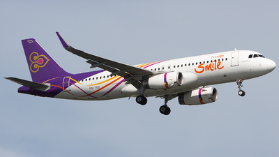 HS-TXO - Airbus A320-232 - Thai Smile