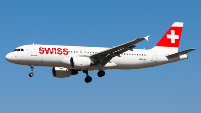 A picture of HBIJP - Airbus A320214 - Swiss - © Luciano Silva