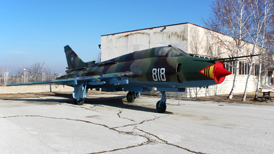 818 - Sukhoi Su-22M4 Fitter K - Bulgaria - Air Force