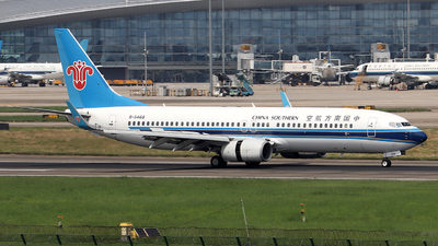A picture of B5468 - Boeing 73781B - China Southern Airlines - © Samuel Pan