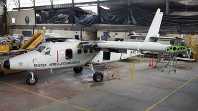 FAE448 - De Havilland Canada DHC-6-100 Twin Otter - Ecuador - Air Force