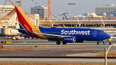 A picture of N203WN - Boeing 7377H4 - Southwest Airlines - © Rocky Wang