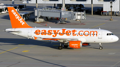 G-EZDH - Airbus A319-111 - easyJet