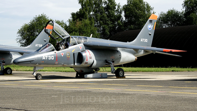 AT-32 - Dassault-Dornier Alpha Jet 1B+ - Belgium - Air Force