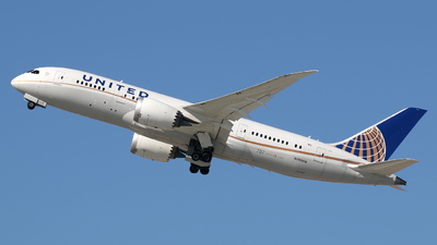 N26906 - Boeing 787-8 Dreamliner - United Airlines