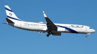 A picture of 4XEHA - Boeing 737958(ER) - El Al - © Stefan Bayer