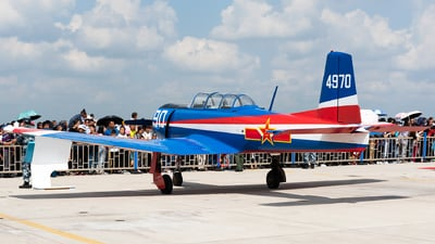 4970 - Nanchang CJ-6 - China - Air Force