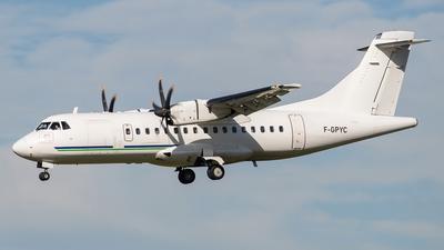 F-GPYC - ATR 42-500 - HOP! for Air France