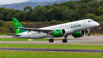 LN-WEX - Embraer 190-300STD - Widerøe