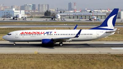 TC-SNI - Boeing 737-8FH - AnadoluJet