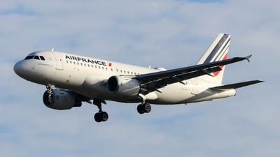 F-GRHE - Airbus A319-111 - Air France