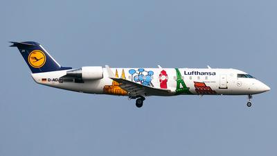 D-ACJH - Bombardier CRJ-200LR - Lufthansa CityLine