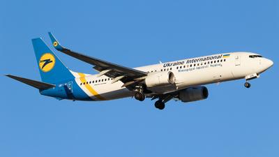 UR-UIB - Boeing 737-8KV - Ukraine International Airlines