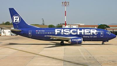 OK-FAN - Boeing 737-33A - Fischer Air