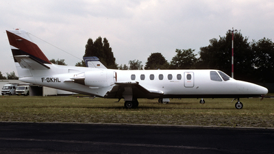 F-GKHL - Cessna 560 Citation V - Euralair International