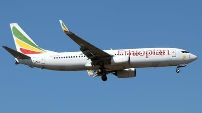 A picture of ETAQP - Boeing 737860 - Ethiopian Airlines - © Timothy Brandt