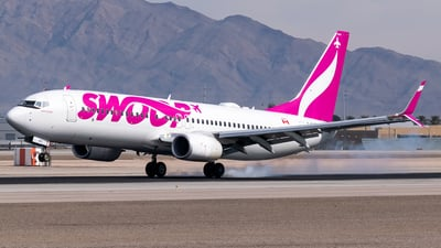 A picture of CFYBK - Boeing 7378CT - Swoop - © Ricky Teteris