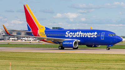 A picture of N564WN - Boeing 73773V - Southwest Airlines - © Mateo Skinner