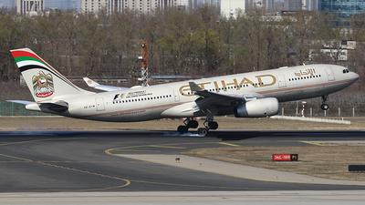 A6-EYM - Airbus A330-243 - Etihad Airways