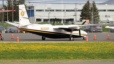 N333UP - Rockwell 695A Jetprop 1000 - Private