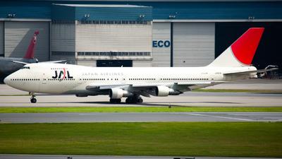 JA8141 - Boeing 747-246B - Japan Airlines (JAL)