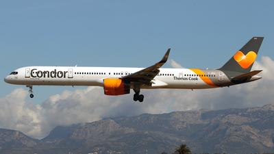 G-JMAA - Boeing 757-3CQ - Condor