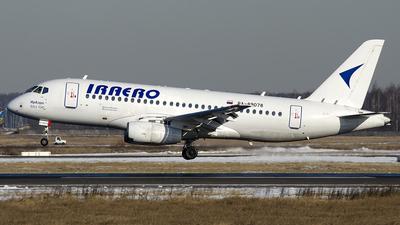 A picture of RA89078 - Sukhoi Superjet 10095LR - IrAero - © OSDU