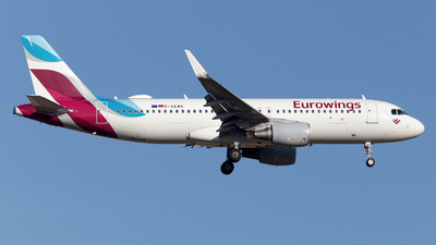 A picture of DAEWK - Airbus A320214 - Eurowings - © Oksana