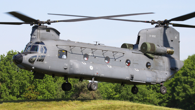 D-892 - Boeing CH-47F Chinook - Netherlands - Royal Air Force