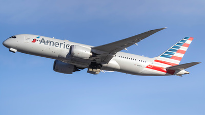 A picture of N815AA - Boeing 7878 Dreamliner - American Airlines - © Kamryn