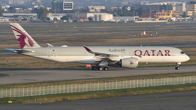 F-WZNJ - Airbus A350-941 - Qatar Airways