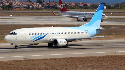 5A-WAC - Boeing 737-4B6 - Buraq Air