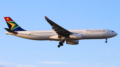 ZS-SXL - Airbus A330-343 - South African Airways