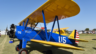 N374BV - Boeing A75N1 Stearman - Private