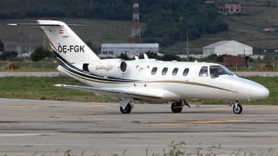 OE-FGK - Cessna 525 CitationJet 1 - SalzburgJetAviation