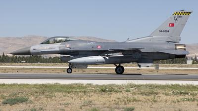 94-0084 - Lockheed Martin F-16C Fighting Falcon - Turkey - Air Force