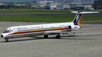 JA8556 - McDonnell Douglas MD-81 - Japan Air System (JAS)