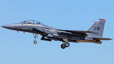 00-3003 - Boeing F-15E Strike Eagle - United States - US Air Force (USAF)
