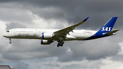F-WZGQ - Airbus A350-941 - Scandinavian Airlines (SAS)