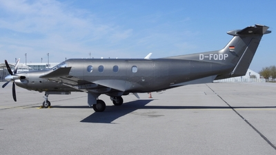 D-FQDP - Pilatus PC-12/47E - Private