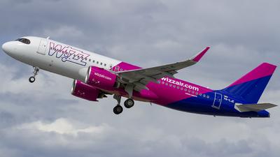 HA-LJE - Airbus A320-271N - Wizz Air