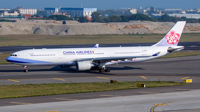 A picture of B18361 - Airbus A330302 - China Airlines - © ECHO