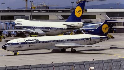 D-ABGI - Boeing 727-230 - Lufthansa