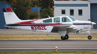 N3102C - Beechcraft F33A Bonanza - Private
